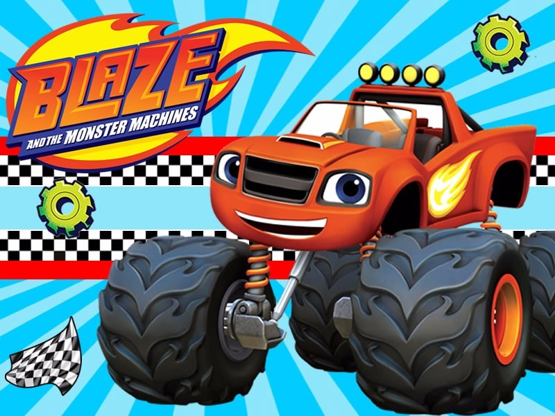 Kit Imprimible Candy Bar Blaze And The Monster Machines – kit imprimibles